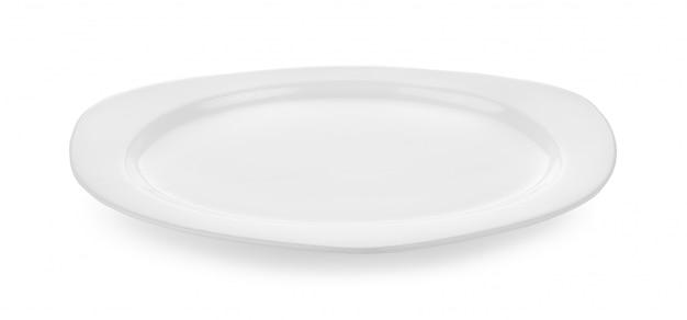 白い背景に白いプレート