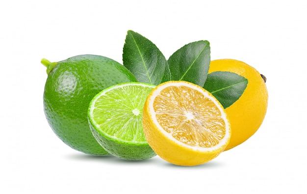 ライムとレモンのホワイトスペース