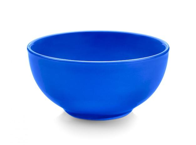 Синий шар на белой поверхности
