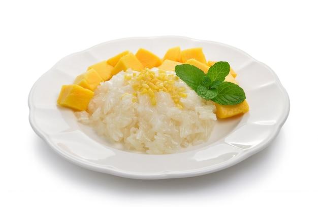 Липкий рис с манго