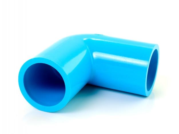 排水管。白で隔離