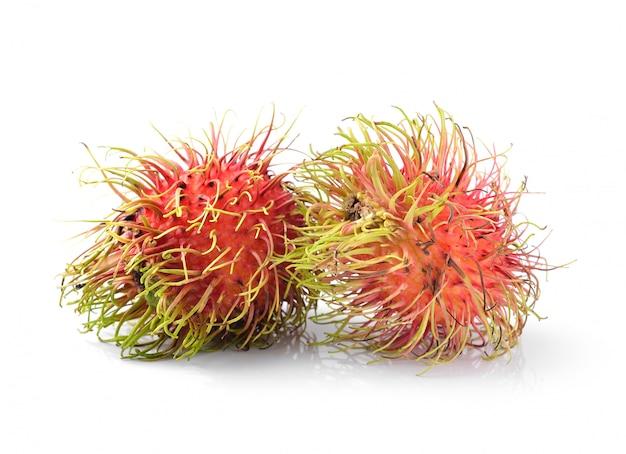 Свежий рамбутан сладкий вкусный фрукт из таиланда