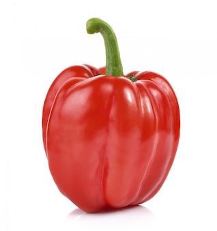Красный перец на белом столе