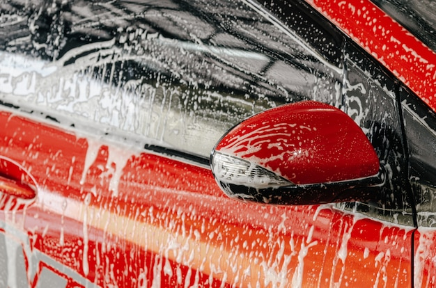 Автомойка пузыри