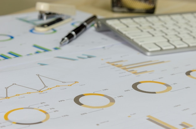 Бизнес график и диаграмма