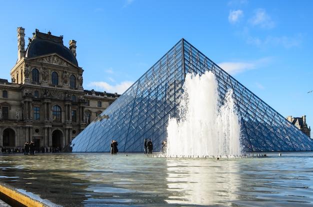 パリのルーヴル美術館