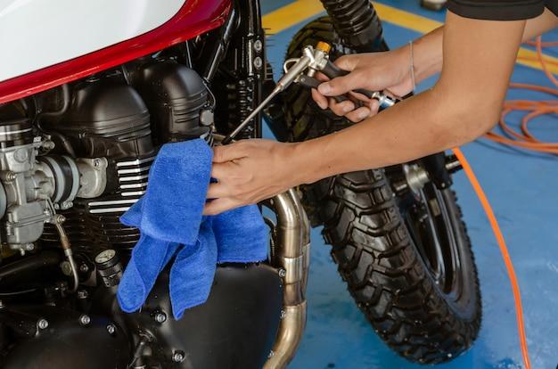 オートバイ用クリーナー