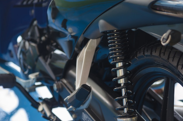オートバイの衝撃吸収材