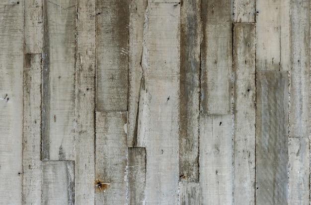 木製の床の壁