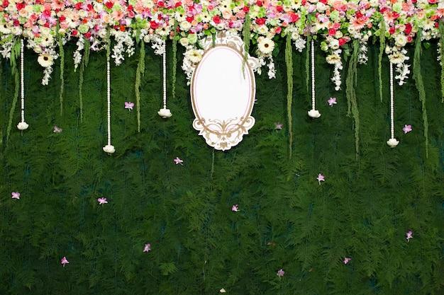 Красивые цветочные свадебные украшения