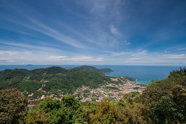 タイ南部の島の風景