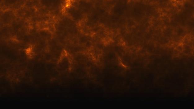 茶色の火の煙の暗い背景