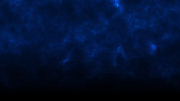 青い煙の暗い背景