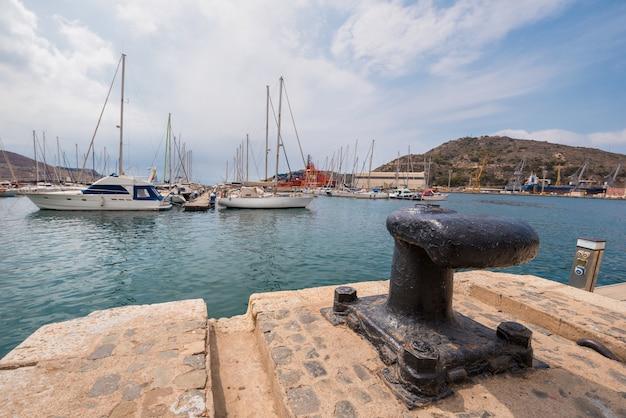 Картахенский порт, мурсия, испания.