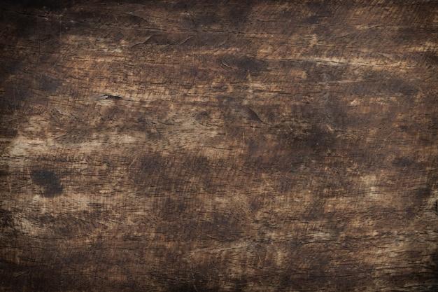 古い木材使用ブラウンパネルテクスチャ背景