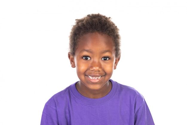 Красивый афроамериканский мальчик