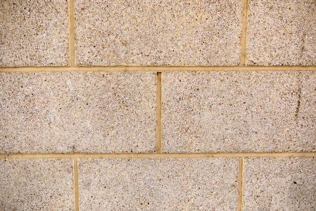 石の壁のクローズアップ