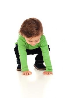 Красивый маленький ребенок двух лет