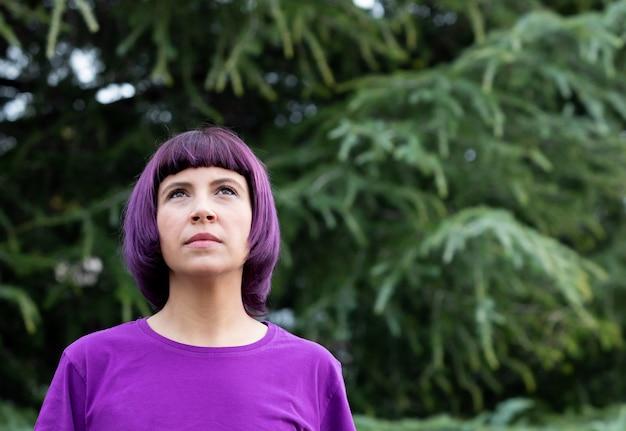紫。男女共同参画のために