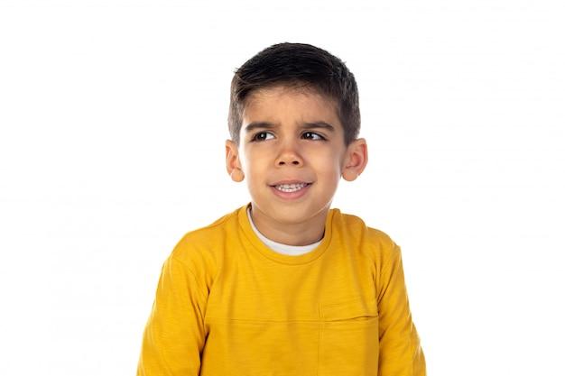 Счастливый цыганский ребенок