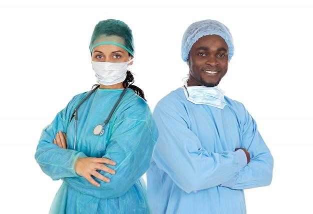 Медицинская команда хирурга