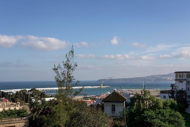 タンジェの街。モロッコ