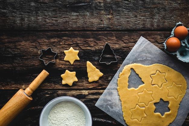 Пряничное тесто на рождество