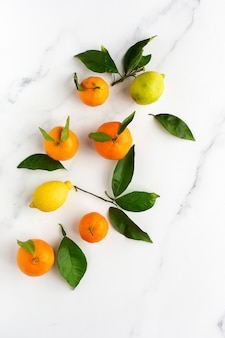 Апельсины, мандарины и лимоны