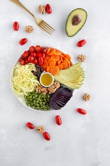 生野菜と野菜の盛り合わせ