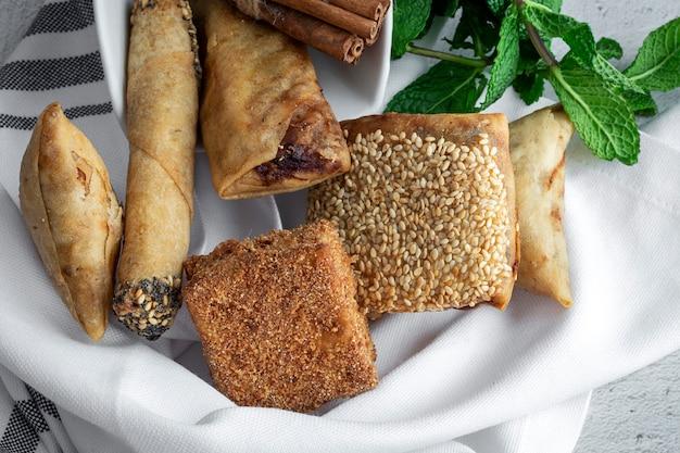 典型的なモロッコ料理
