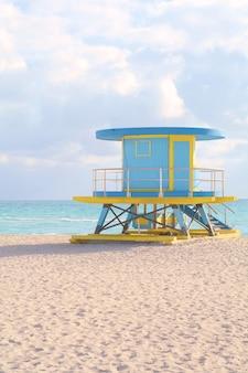 マイアミのライフガードタワー