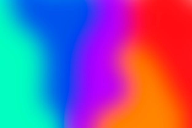 Размытый градиент абстрактный фон с яркими основными цветами