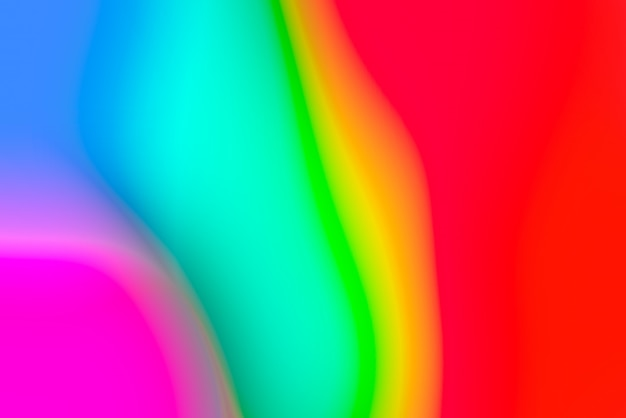 鮮やかな原色のぼやけたポップ抽象的な背景
