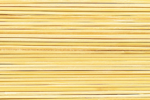自然のつまようじテクスチャをクローズアップ抽象的な黄色の背景