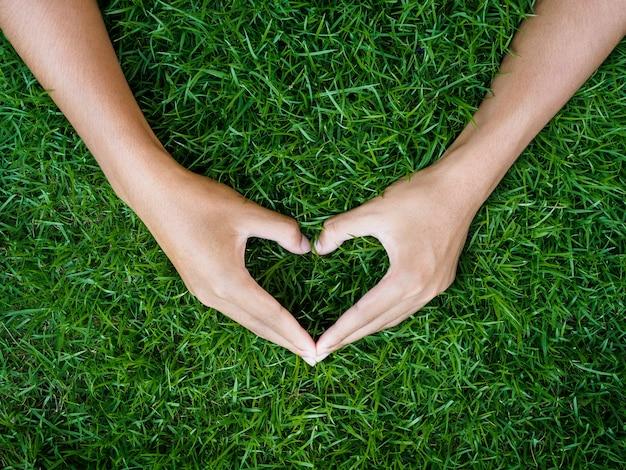 愛とバレンタインデーのコンセプト