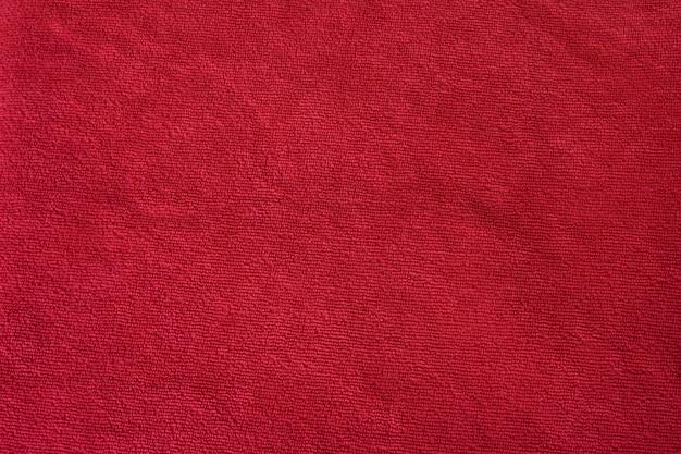 赤い布のテクスチャ背景