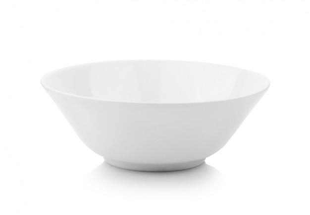 Белая чаша на белом фоне