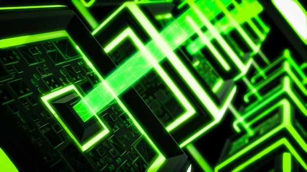 ブロックチェーン、現代のサイエンスフィクション技術の背景。