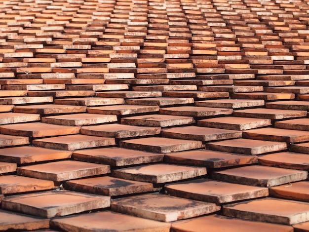 タイル屋根の背景