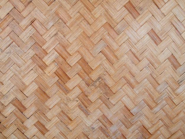 タイ風竹工芸の模様とデザイン