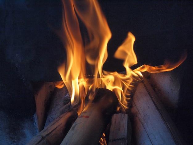 火へのログオン