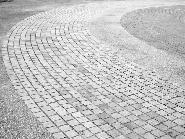 レンガの歩道の背景
