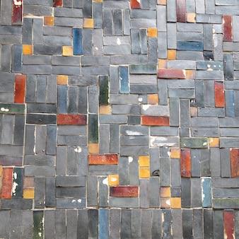 レンガブロック壁の背景