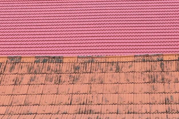 屋根瓦のテクスチャ