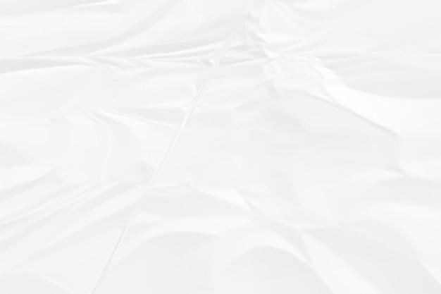 Мятый фон белой бумаги крупным планом