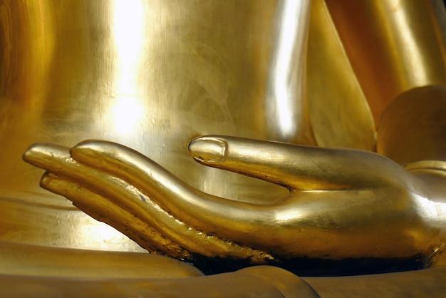 黄金の手仏像