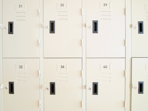 Шкафчики в школе