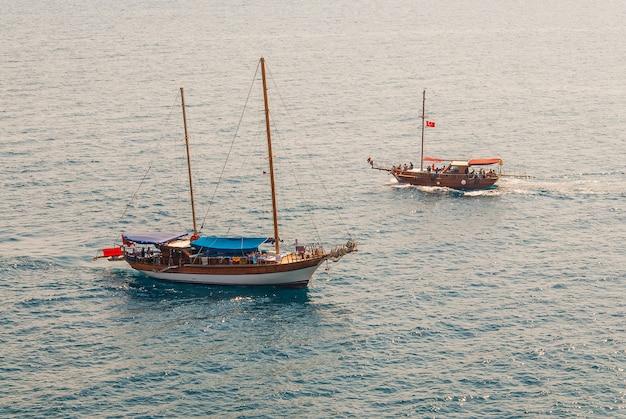 トルコの遊覧船
