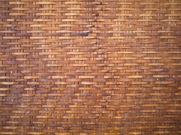 木製バスケットテクスチャ背景