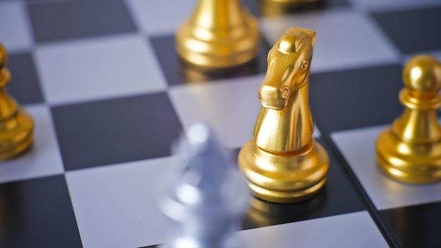 Игра шахматная битва конфронтация в конечной точке